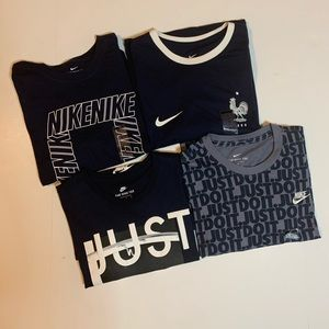 Nike Blue Shirt Bundle